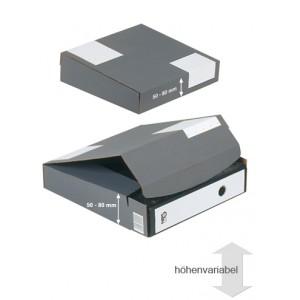 Ordner-Versandbox 50 - 80 höhenvariabel