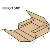 Faltkarton (Kreuzverpackung 1 tlg)  FEFCO 0401