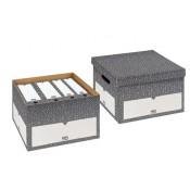 Archiv-Box L mit Deckel (Foolscap)